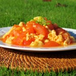 Scrambled Egg with Tomato