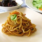 Noodles with Soy Bean Paste - A Traditional Beijing Dish