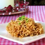 Stir-fried Noodles in Soy Sauce