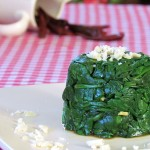Spinach in Sweet and Sour Sauce