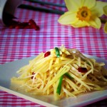 Sautéed Shredded Potato with Spicy and Sour Sauce