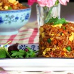 Fried Rice in Soy Sauce