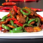 Sautéed Pork with Chili Pepper